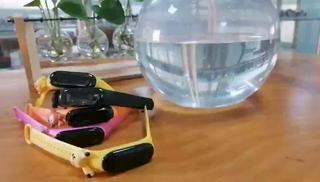 Đồng Hồ điện tử led nữ SBAO đính con vật đáng yêu Dùng Cho Bé Yêu Chống Nước sinh hoạ
