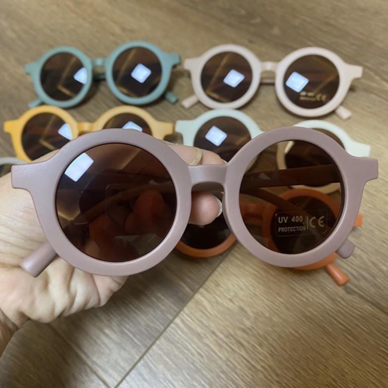 Kính Mắt Trẻ Em Thời Trang Chống Tia UV Túi Zip
