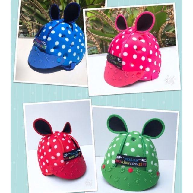 <<Buon Si>> Mũ Bảo Hiểm Cho Bé 7 Tháng Đến 5