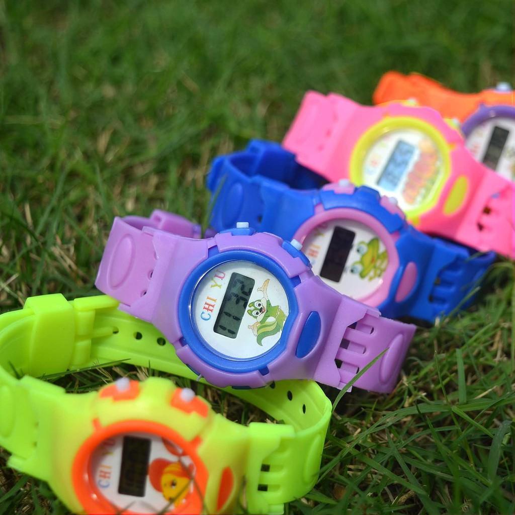 Đồng hồ điện tử trẻ em Chi Yu CY001 siêu cute, mẫu mới cực đẹp