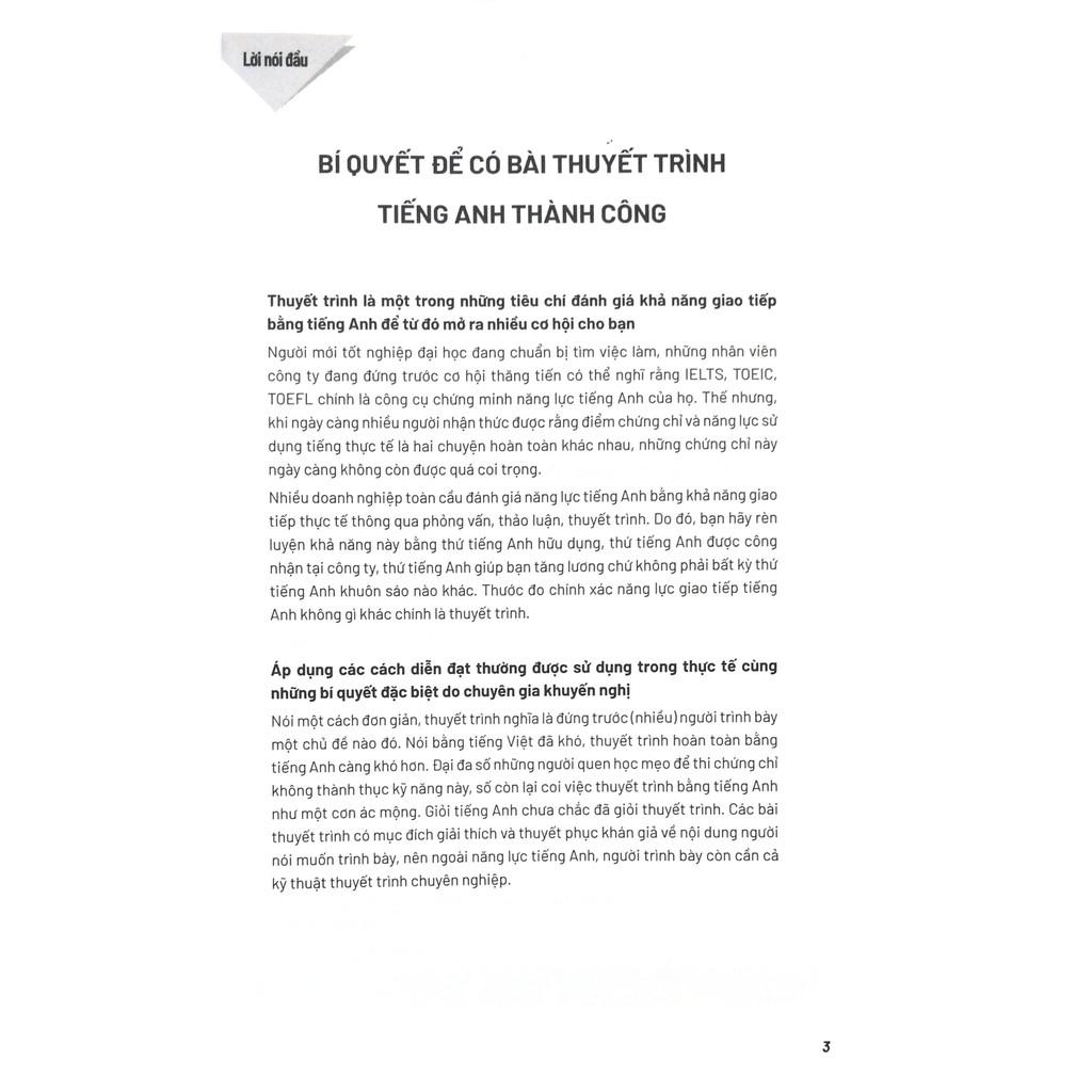 Sách - Sống Sót Nơi Công Sở - English Presentation - Ngôi Sao Báo Cáo Và Thuyết Trình