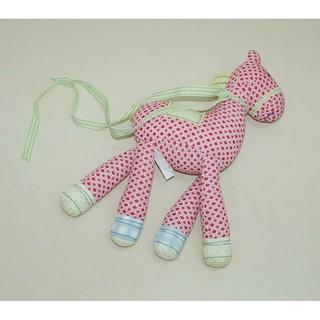 TREO CŨI: Chú ngựa bông lục lạc chấm bi Mamas & Papas (Anh) 99.99%