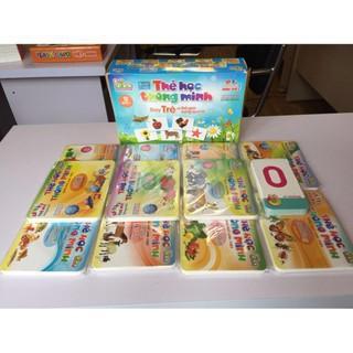 [GIÁ HỦY DIỆT] Bộ thẻ học cho bé 416 thẻ 16 chủ đề đa dạng tiện dụng