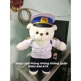 Gấu Bông Bộ Đội Hải Quân 70 cm