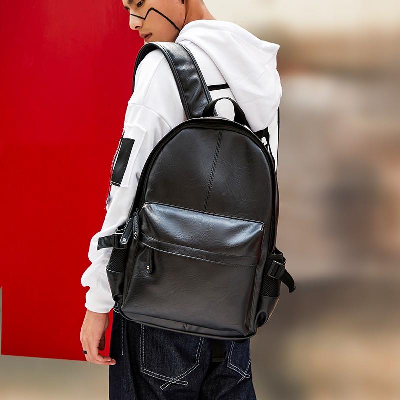 Backpack fashion college wind men's bag shoulder bag men and