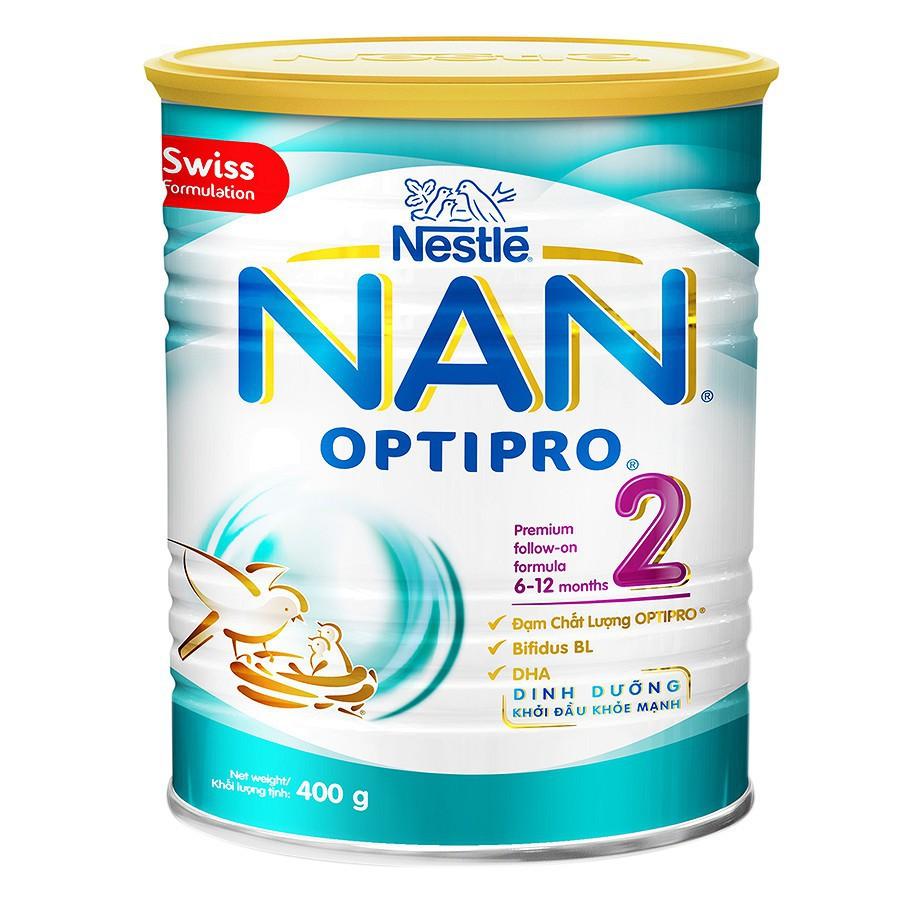 Sữa Bột Nestle NAN Optipro 2 (400g) - 3551500 , 1338053504 , 322_1338053504 , 199500 , Sua-Bot-Nestle-NAN-Optipro-2-400g-322_1338053504 , shopee.vn , Sữa Bột Nestle NAN Optipro 2 (400g)