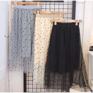 Chân váy lưới bi thumbnail