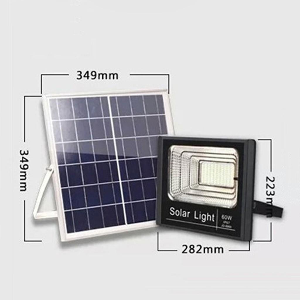 Đèn LED Năng Lượng Mặt Trời JD 8860 Công Suất 60W - Đèn ngoài trời Hãng No  brand