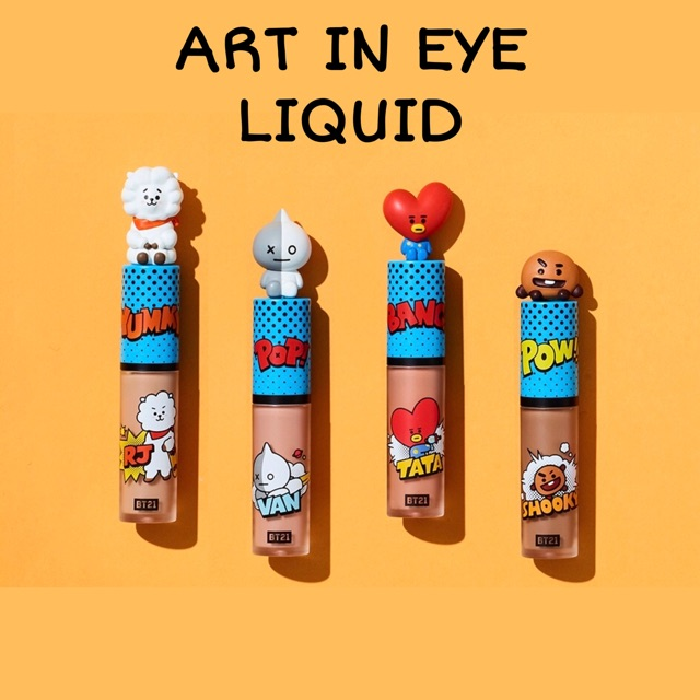 [ORDER] PHẤN MẮT VT x BT21 VER 2 ART IN EYE LIQUID