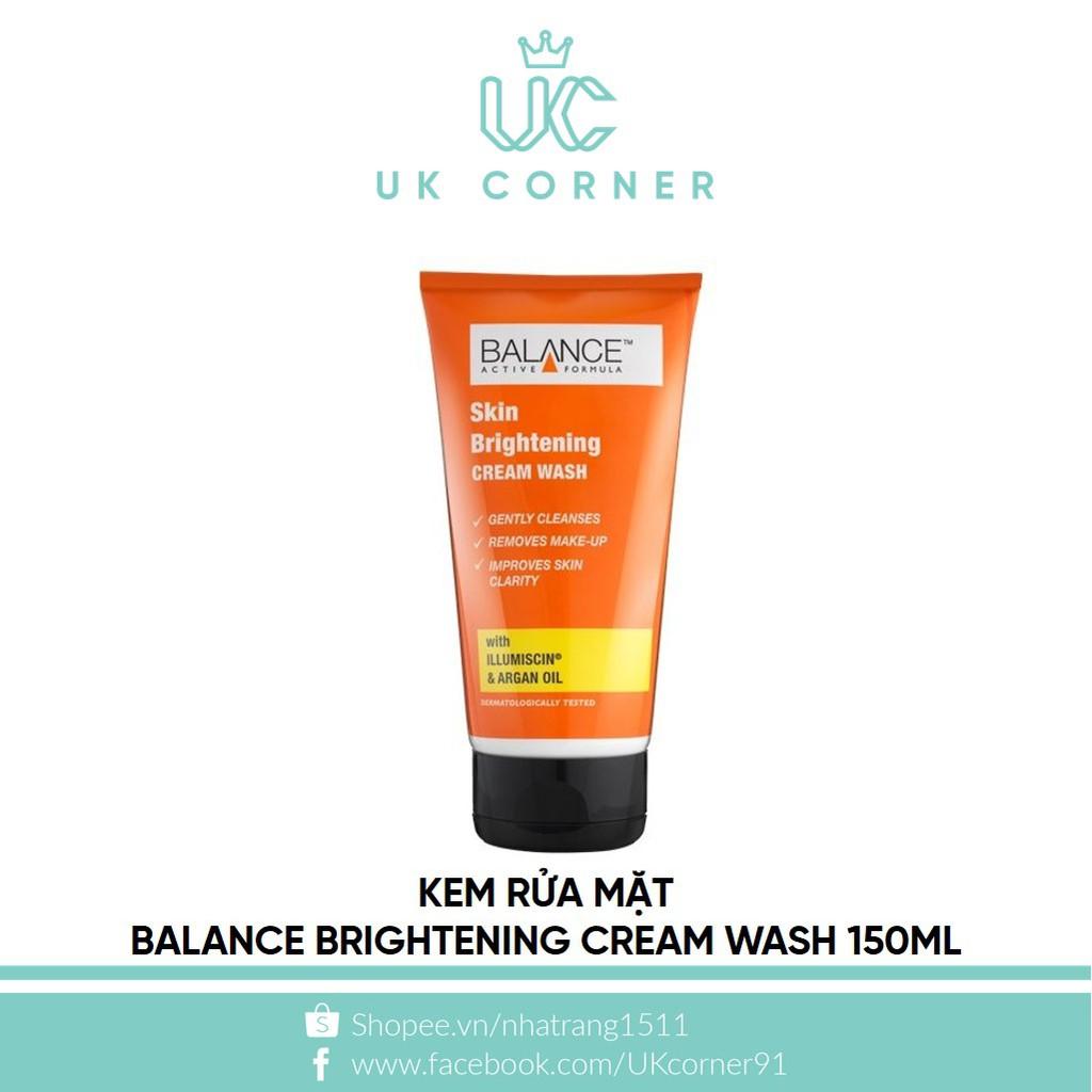 Kem rửa mặt Balance Brightening Cream Wash 150mL - 2413815 , 64978933 , 322_64978933 , 190000 , Kem-rua-mat-Balance-Brightening-Cream-Wash-150mL-322_64978933 , shopee.vn , Kem rửa mặt Balance Brightening Cream Wash 150mL