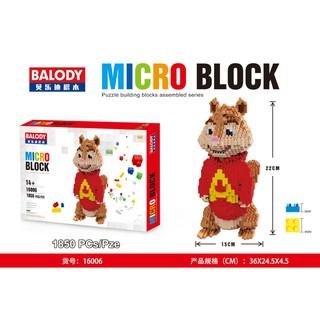Lego BALODY16006 1850miếng ghép NLG0030-6