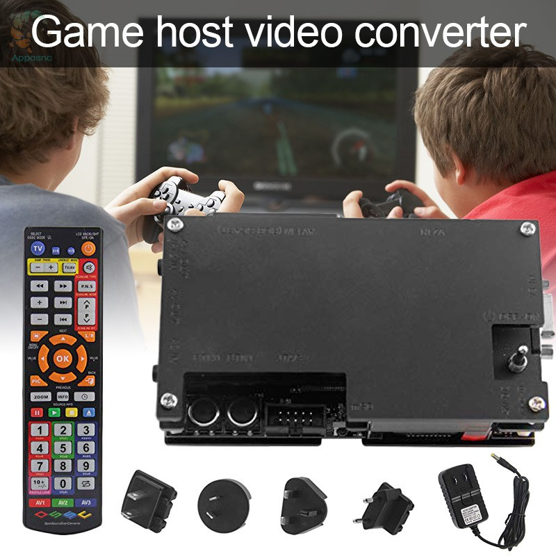 [BEST] 1 Set OSSC HD Video Converter with Remote Control for Retro Game Consoles