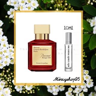 Mẫu thử nước hoa Maison Francis Kurkdjian MFK 540 Extrait de parfum 10ml 20ml thumbnail
