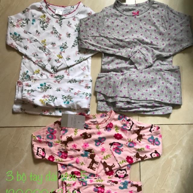 Combo 3 bộ tay dài bé gái 5 bịch khăn giấy agi 100 tờ không mùi - 3191974 , 451040661 , 322_451040661 , 245000 , Combo-3-bo-tay-dai-be-gai-5-bich-khan-giay-agi-100-to-khong-mui-322_451040661 , shopee.vn , Combo 3 bộ tay dài bé gái 5 bịch khăn giấy agi 100 tờ không mùi