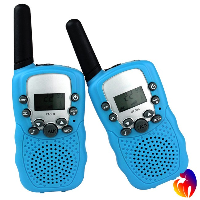 1 Pairs of Kids Mini Walkie Talkie Long Range 22-Channel Children Walky Talky Giá chỉ 265.518₫