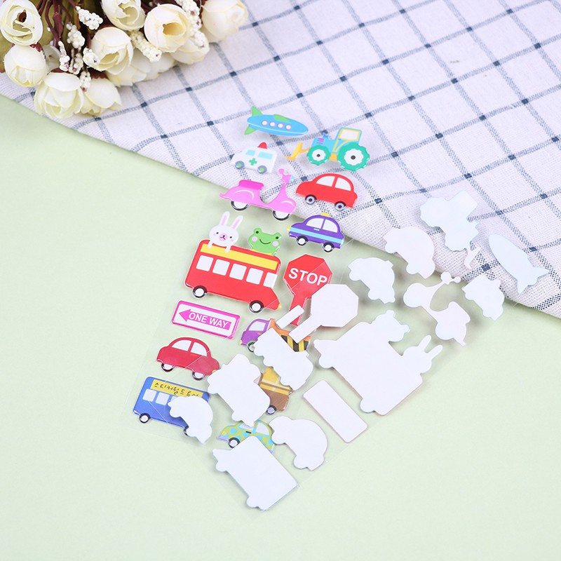 Specialhour 10Pcs cartoon bubble stickers children classic toys sticker Christmas gift