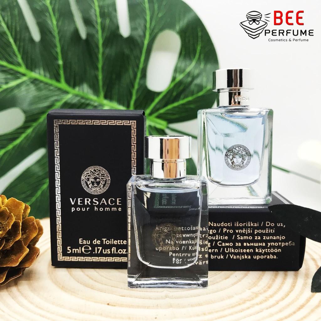 Nước Hoa Mini Versace pourhome EDT 5ml chính hãng cho nam [SIÊU SALE]