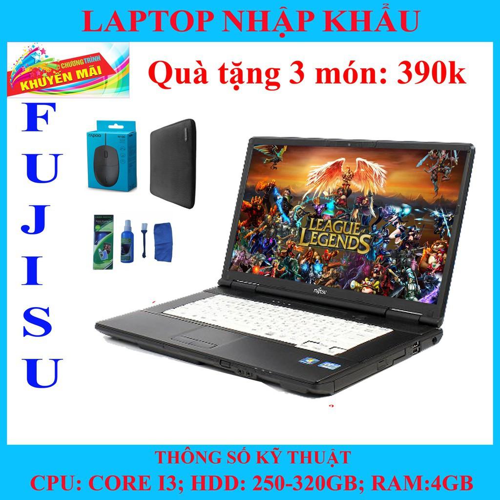 (Hàng nhập khẩu) Chuyên game, laptop core i nhập khẩu, siêu bền bảo hành phần mềm 12 tháng. Giá chỉ 3.850.000₫