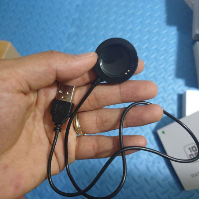 Cáp sạc đồng hồ thông minh T500, T55, Logo Apple