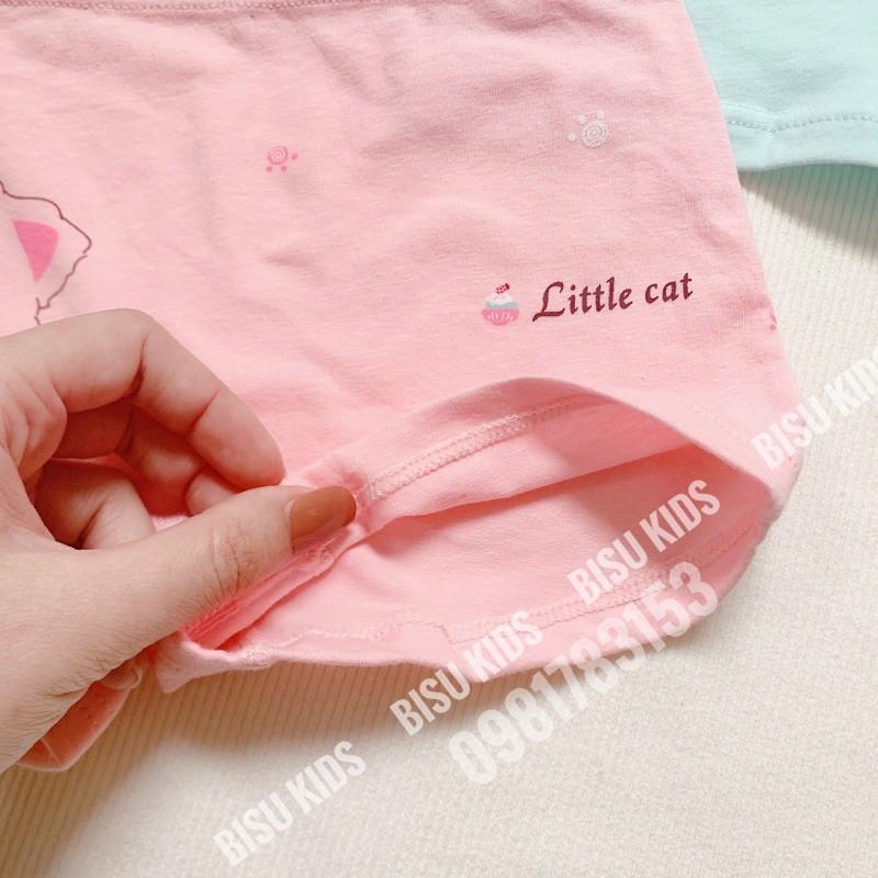 Quần chíp bé gái, quần chip đùi cho bé gái cao cấp chất liệu cotton siêu mềm mịn và dễ thương size cho các bé 11-34kg