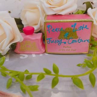 Nước hoa Peace love Juicy Couture 5ml trẻ trung nữ tính quyến rũ hương hoa cỏ nhẹ nhàng thumbnail