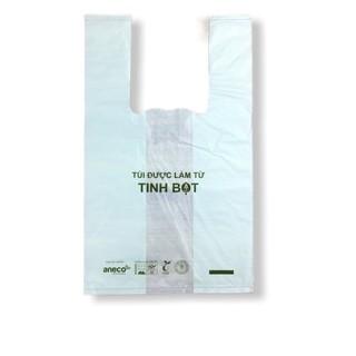 Túi có quai sinh học phân hủy hoàn toàn AnEco xanh lá