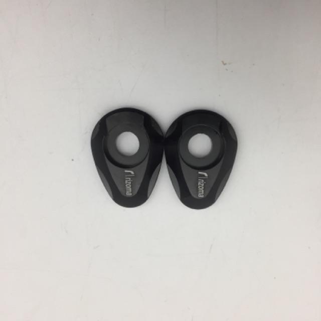 Vành pát đèn xi nhan mẫu kim loại nhôm đúc CNC (giá 1 cặp)