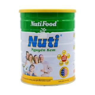 (Nhập MKBCT11 hoàn 5%) Sữa Bột Nuti nguyên Kem Hộp Thiếc 900g thumbnail