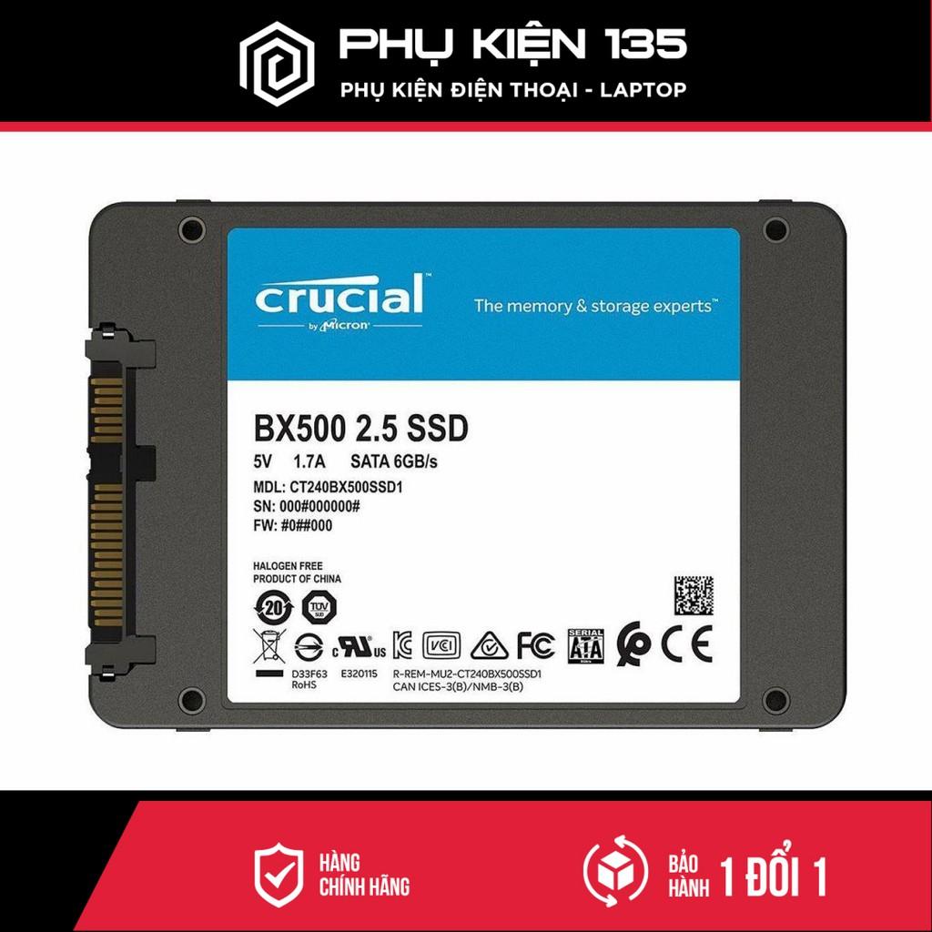 Ổ cứng SSD Crucial BX500 2.5 Inch SATA 3 - CT120BX500SSD1