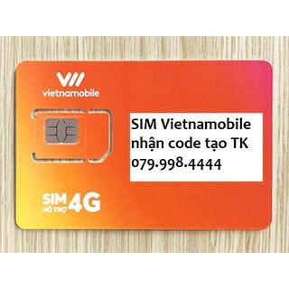 Sim Vietnamobile tạo tài khoản shope,zalo,fb ,… nghe gọi vào mạng