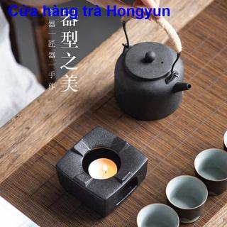 Đế hâm trà nến dày Bộ ấm trà gốm sứ Kungfu, bếp nấu trà, đài pha trà gốm sứ kiểu Nhật, dụng cụ hâm và giữ nhiệt, th thumbnail