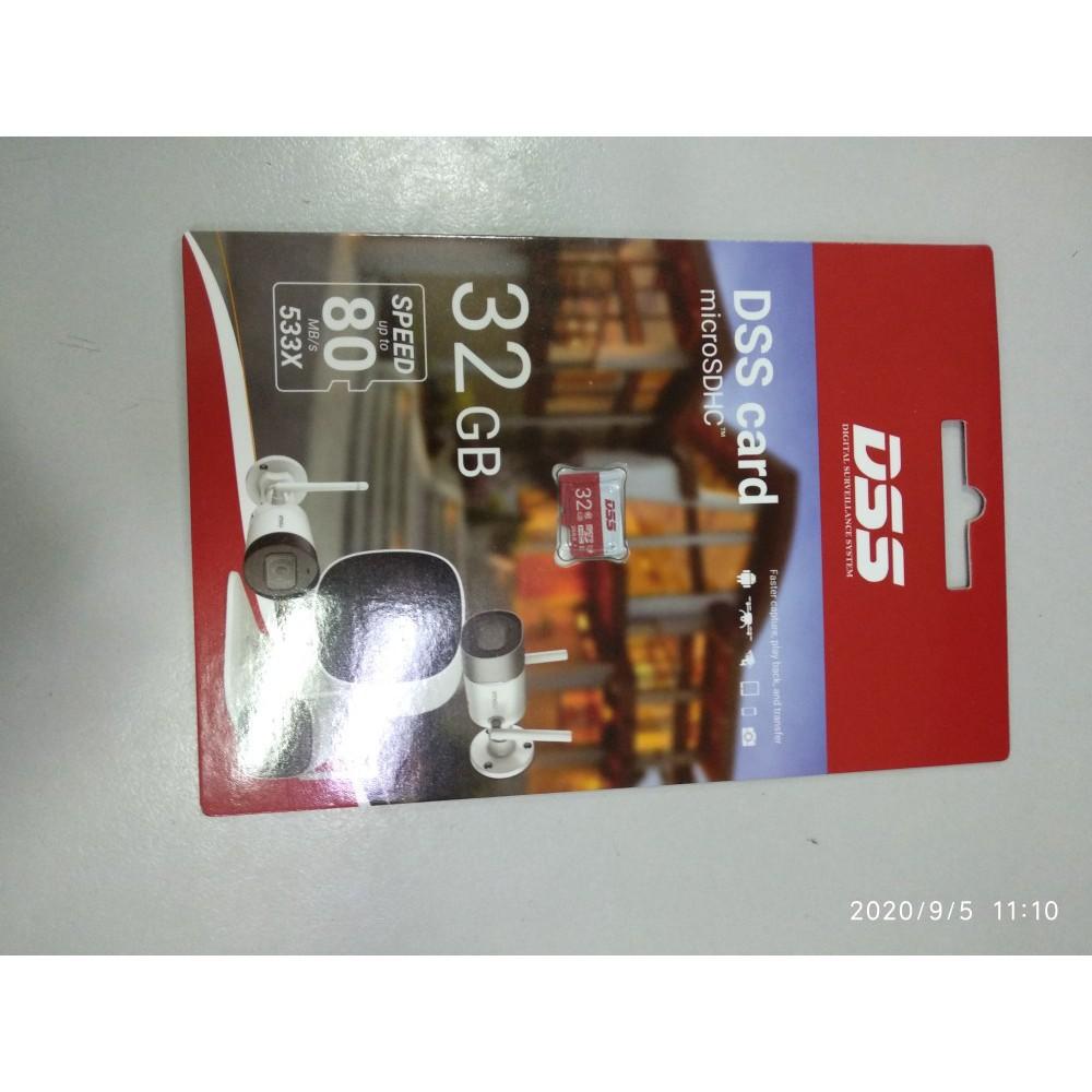 Thẻ Nhớ Micro SD 32GB Class 10 U1 chuyên dụng cho Camera, Máy quay DSS Dahua Chính hãng
