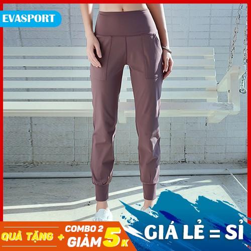 Quần Jogger nữ LUXURY hàng loại 1, mang đi chơi, tập gym yoga hàn quốc -EvaSport_vn