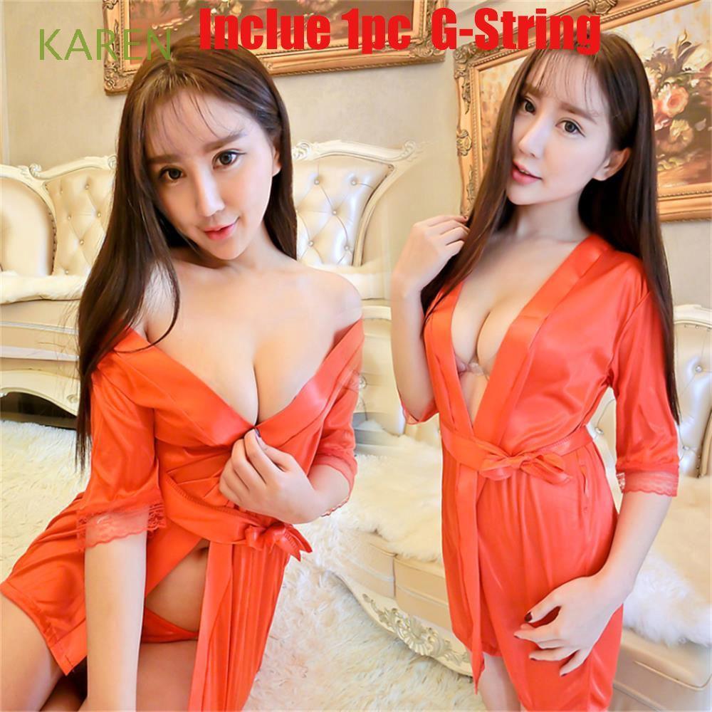 Áo Choàng Ngủ Kimono Chất Phi Bóng Thiết Kế Cổ Chữ V Nữ Tính - 22462843 , 5411789272 , 322_5411789272 , 75100 , Ao-Choang-Ngu-Kimono-Chat-Phi-Bong-Thiet-Ke-Co-Chu-V-Nu-Tinh-322_5411789272 , shopee.vn , Áo Choàng Ngủ Kimono Chất Phi Bóng Thiết Kế Cổ Chữ V Nữ Tính
