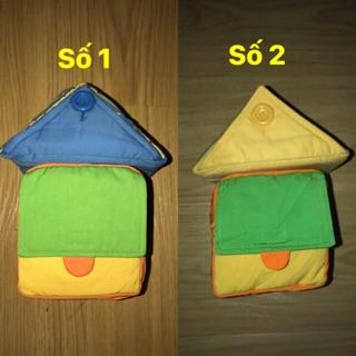 Set ghép hình ngôi nhà cho bé- dạy kỹ năng (đồ si tuyển)