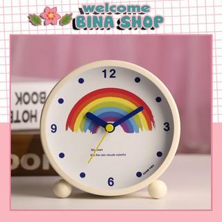 Đồng hồ báo thức, đồng hồ để bàn trang trí phòng siêu cute, chất liệu thép cao cấp thumbnail