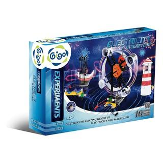 Hộp Gigo toys Thí nghiệm điện từ trường 10 chủ đề 137 chi tiết nhiều màu 7065