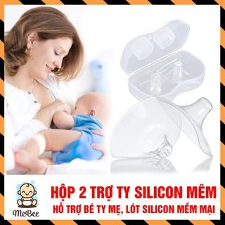 Dụng cụ trợ ti cho mẹ (Hộp 2 chiếc)- Bảo vệ cho mẹ khi bé bú