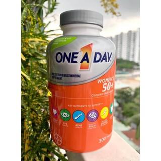 Vitamin tổng hợp One A Day women's 50+ Multivitamin 300 viên