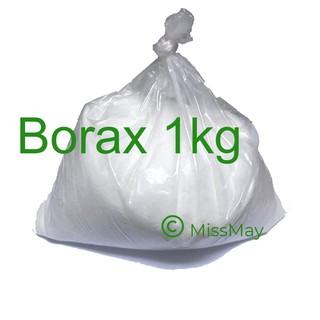 Borax mỹ 1kg (nguyên liệu làm đông slime)