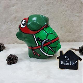 Heo đất handmade – Ninja rùa