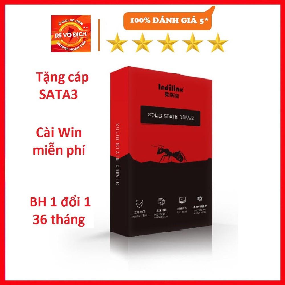 Ổ cứng SSD ShineDisk, Indilinx 120GB, 240GB SATA 3 - Khuyến mại cáp SATA3, Cài win miễn phí, BH 1 đổi 1 trong 36 tháng