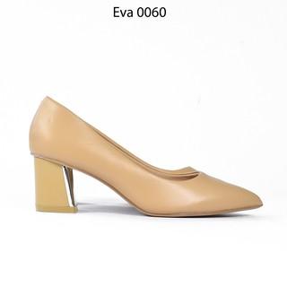 Giày Cao Gót Viền Màu Chì Mũi Nhọn Da PU 5cm Evashoes - Eva0060 thumbnail