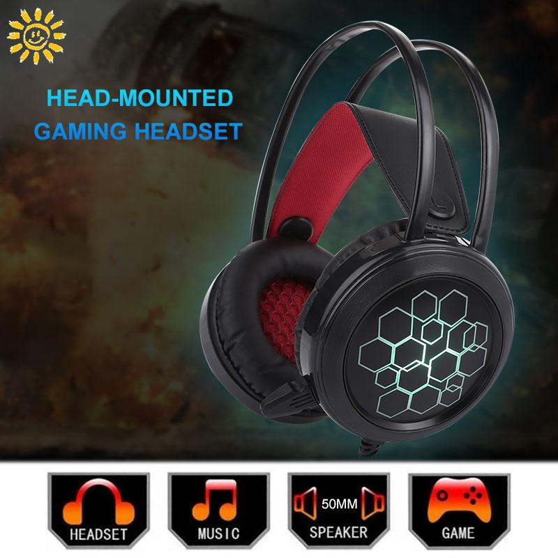 SMI Fashion Gaming Headset Headset Stereo Mic Headphone Giá chỉ 149.637₫