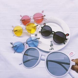 Kính mát chống tia UV kiểu dáng Hàn Quốc dành cho các bé