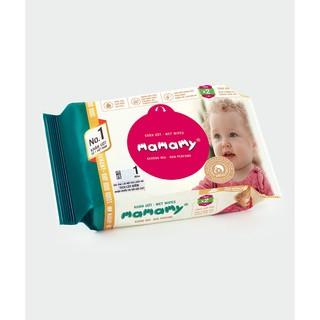 KHĂN ƯỚT MAMAMY ( 30 Tờ Gói - Có mùi, Không mùi )