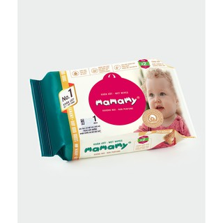 KHĂN ƯỚT MAMAMY ( 30 Tờ/Gói – Có mùi, Không mùi )