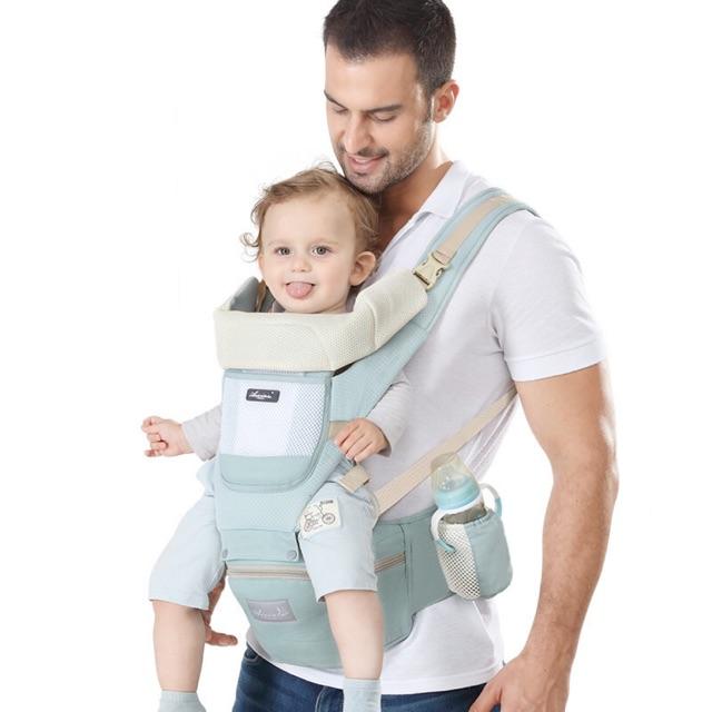 Đai địu an toàn cho bé [ FREESHIP EXTRA] Đai địu an toàn 2 trong 1, tiện lợi cho bé, an toàn cho mẹ, hàng nội địa Trug!!