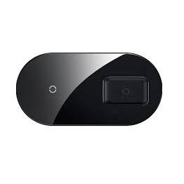 Dock sạc không dây 2 in 1 BASEUS Simple Pro Edition có thể sạc được airpod