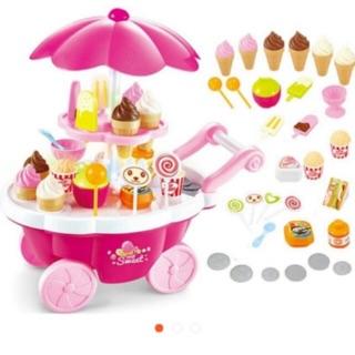 Xe đẩy bán kem